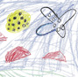 Interaction design inspirations from children's drawings in a mixed-reality museum exhibition