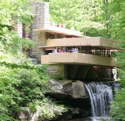 Destroying the box: Experience architecture inspiration from Frank Lloyd Wright